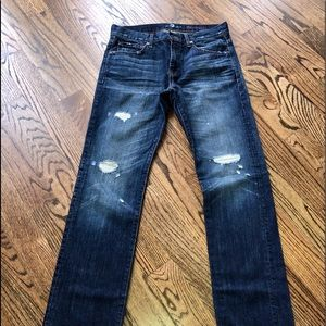 7 for all mankind the straight size 30